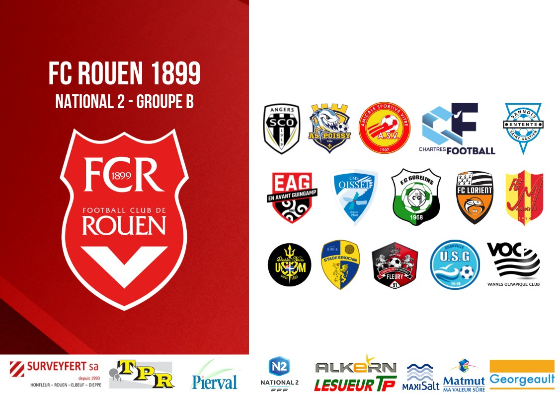 Calendrier National 2 Groupe A.Le Calendrier De National 2 Devoile Fc Rouen